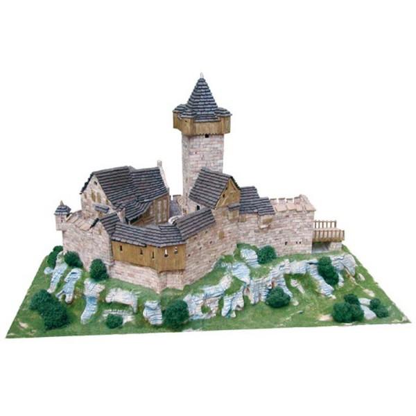 Chateau Burg Falkenstein (Autriche) - 7000 pcs - 31 x 60 x 36 cm - Dif 8/10 1/87 Aedes - Photo n°1