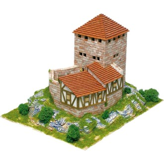 Kit céramique -Château Burg Grenden -Suisse  -  2 300 pièces