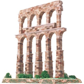 Kit céramique -Aqueduc de Segovia -Espagne  -  1 150 pièces