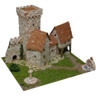 Kit céramique -Tour médiévale -  3 200 pièces