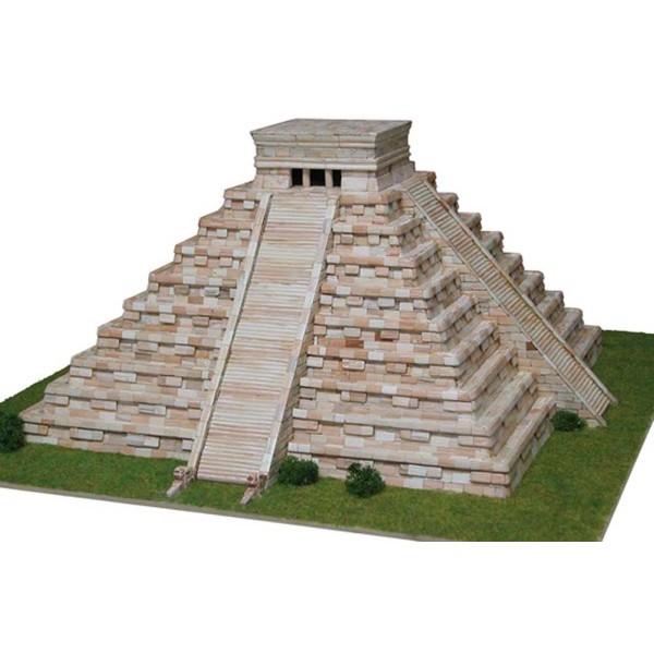 Temple de Kukulcan (Mexique) - Ech 1/175 - 4500 pcs - 44 x 44 x 19 cm - Dif 7,5/10 Aedes - Photo n°1