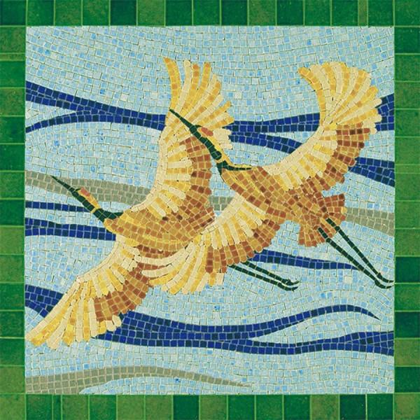 Mosaïque oiseaux - 4500 pcs 30 x 30 cm Aedes - Photo n°1