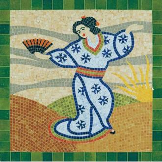 Kit mosaïque - Japonaise  -  4 500 pièces