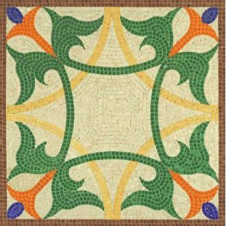 Kit mosaïque - Geométrie 1  -  4 500 pièces