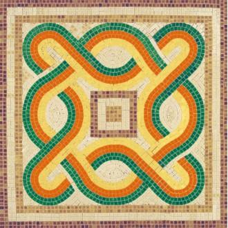 Kit mosaïque - Géométrie 3  -  4 500 pièces