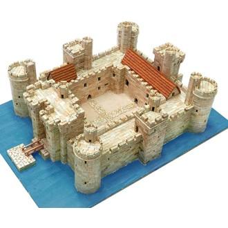 Kit céramique -Château Bodiam - Angleterre -  5 850 pièces