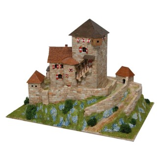 Kit céramique -Château Burg Branzoll -Italie  -  3 800 pièces