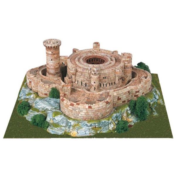 Chateau de Bellver (Palma de Mallorca - Espagne) - Ech 1/350 - 3200 pcs - 33 x 33 x 16,5 cm - Dif 8 - Photo n°1