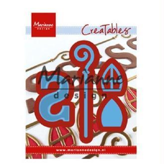 Die  Creatables Marianne Design - Accessoires Saint Nicolas - 4 pcs