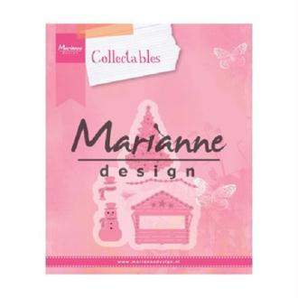 Die Collectables Marianne Design - Maison de Noel - 5 pcs