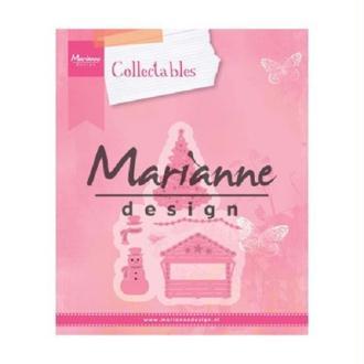 Die Collectables Marianne Design - Maison de Noel - 5 pcs