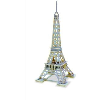 Tour Eiffel Puzzle 3D bois