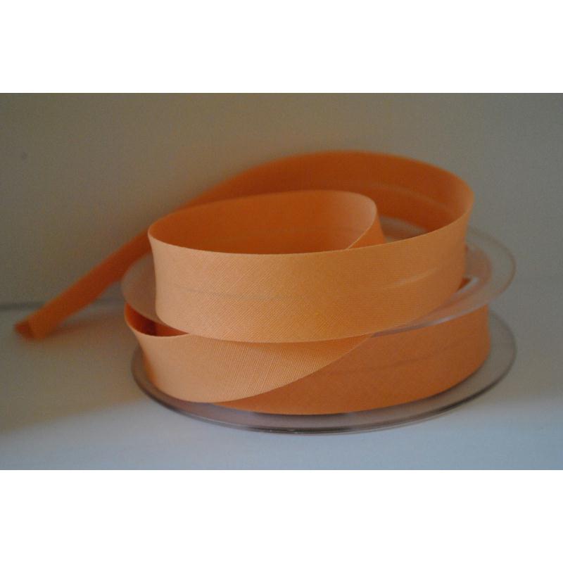 Biais Uni Par 2 Mètres Coloris Orange Pêche 838 2Cm / 20Mm De Large Fillawant De Dmc - Photo n°1