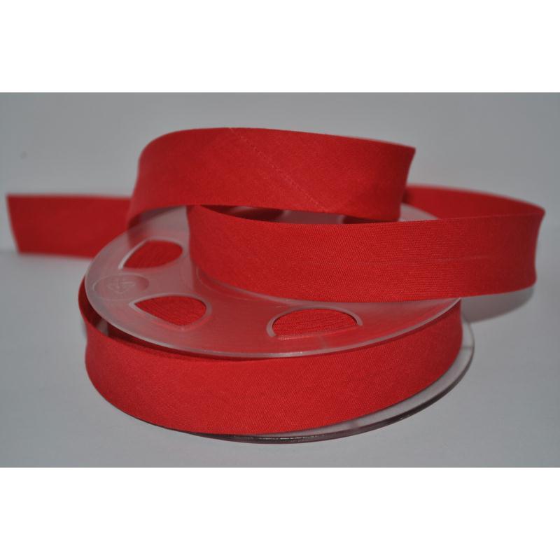 Biais Uni Par 2 Mètres Coloris Rouge Vif 635 2Cm / 20Mm De Large Fillawant De Dmc - Photo n°1