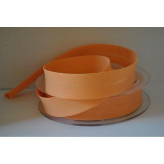Biais Uni Rouleau De 20 Mètres Coloris Orange Pêche 838  2Cm / 20Mm Fillawant De Dmc