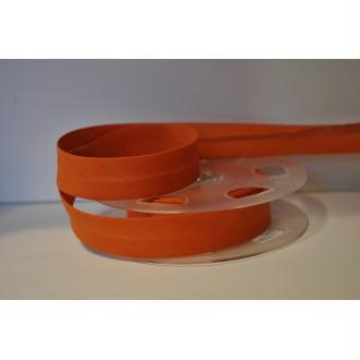 Biais Uni Rouleau De 20 Mètres Coloris Orange Brulé 841  2Cm / 20Mm Fillawant De Dmc