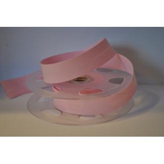 Biais Uni Rouleau De 20 Mètres Coloris Rose Layette 632  2Cm / 20Mm Fillawant De Dmc