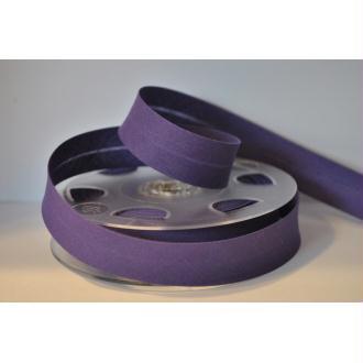 Biais Uni Rouleau De 20 Mètres Coloris Violet Foncé 564  2Cm / 20Mm Fillawant De Dmc