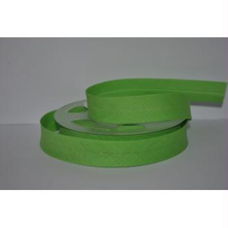 Biais Uni Rouleau De 20 Mètres Coloris Vert Vif 853  2Cm / 20Mm Fillawant De Dmc