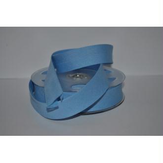 Biais Uni Rouleau De 20 Mètres Coloris Bleu Clair 587  2Cm / 20Mm Fillawant De Dmc