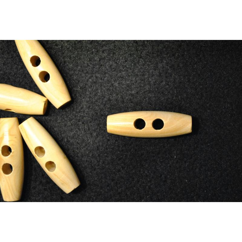 bouton b chette bois en buis coloris naturel 40mm 4cm l 39 unit boutons bois creavea. Black Bedroom Furniture Sets. Home Design Ideas