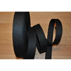 20 mm Noir Lot de 10 Boucles Coulissantes pour Sangle Polypropylene.