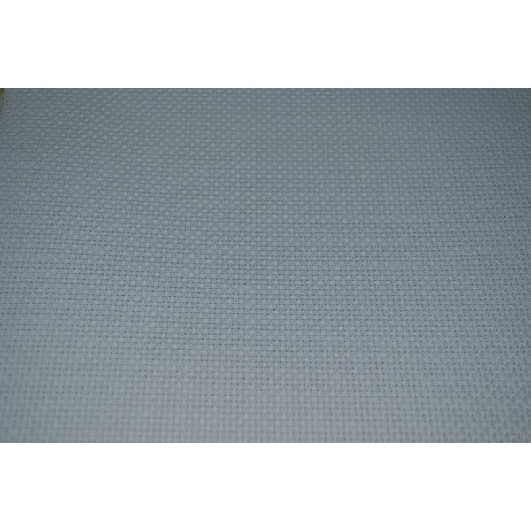 Toile Aïda 5.5 / Cm 80 X 50 Cm Bleu Ciel 72 Luc - Photo n°2