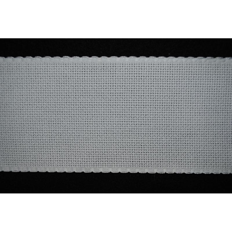 canevas blanc 54 trous//10 cm Laize 150 x 50 cm Toile à broder Aida