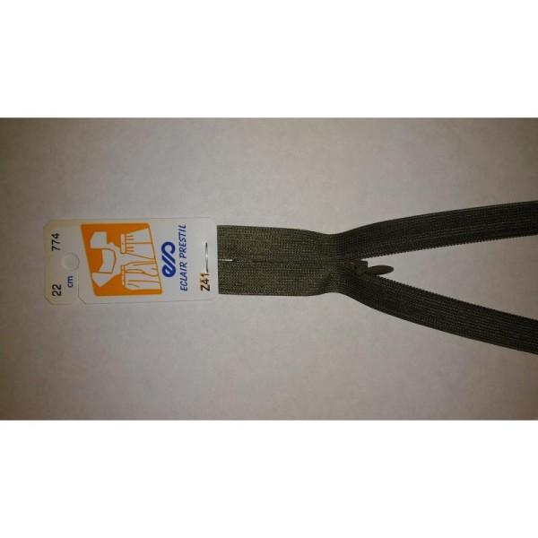 Fermeture Éclair Invisible 22 Cm Non Séparable Z41 Vert Kaki Clair 774 - Photo n°1
