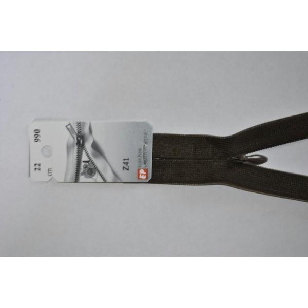 Couleur Parme//mauve Zip// Fermeture éclair dentelle non séparable de 25 cm
