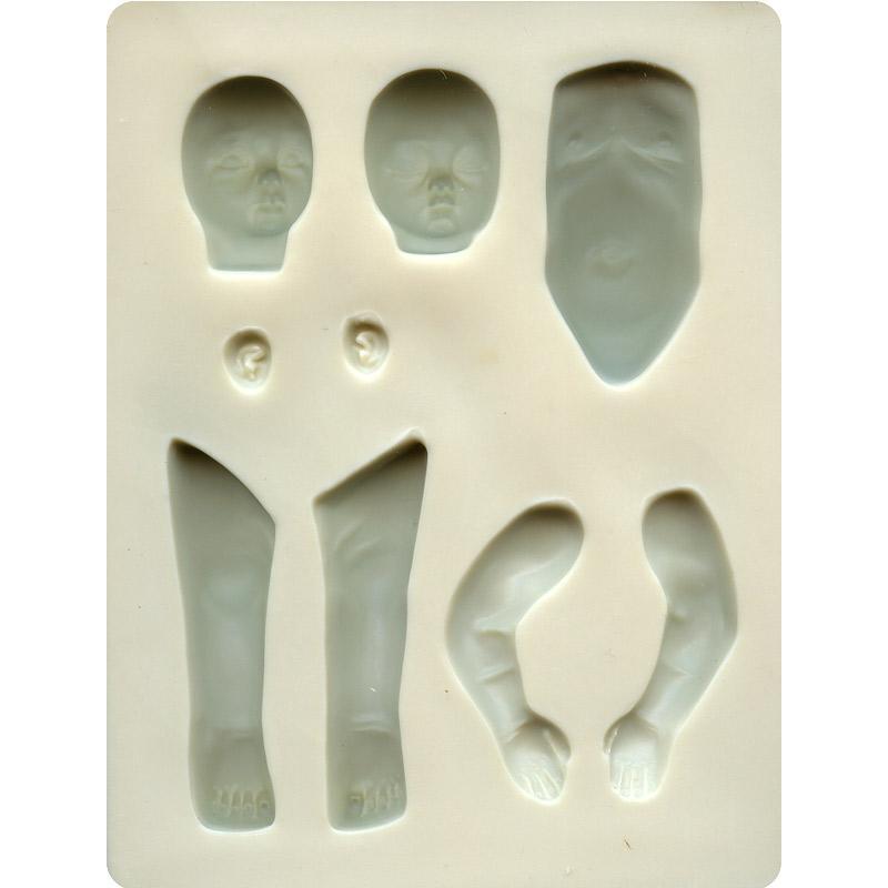 Moule souple Sculpey Bébé - Photo n°2