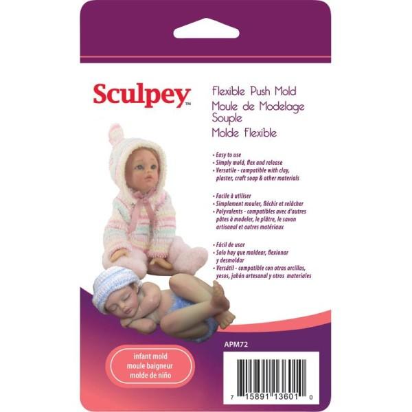 Moule souple Sculpey Bébé - Photo n°1