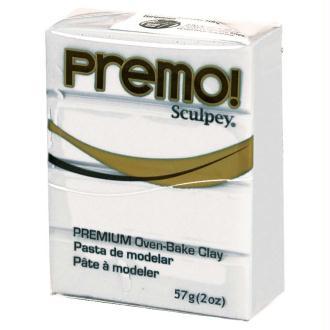 Pâte Sculpey Premo Blanc - 57g
