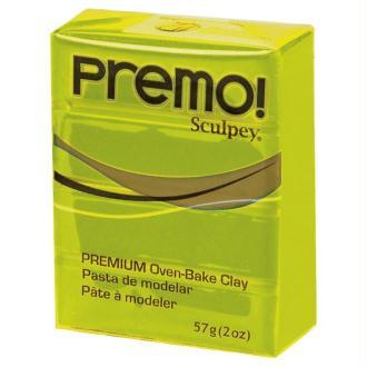 Pâte Sculpey Premo Vert wasabi - 57g
