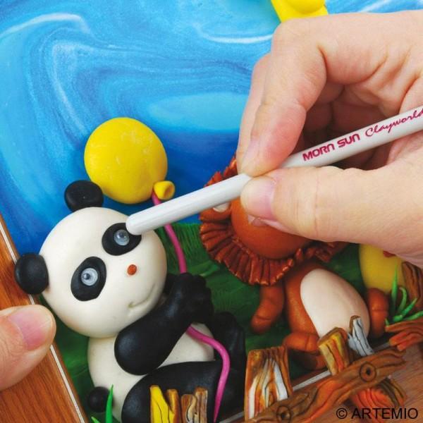 Pâte Sculpey Premo Accent Rose perle - 57g - Photo n°6