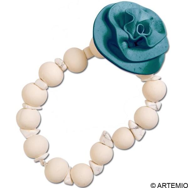 Pâte Sculpey Premo Accent Perle turquoise - 57g - Photo n°2