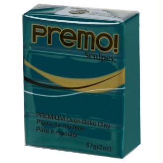 Pâte Sculpey Premo Accent Perle turquoise - 57g