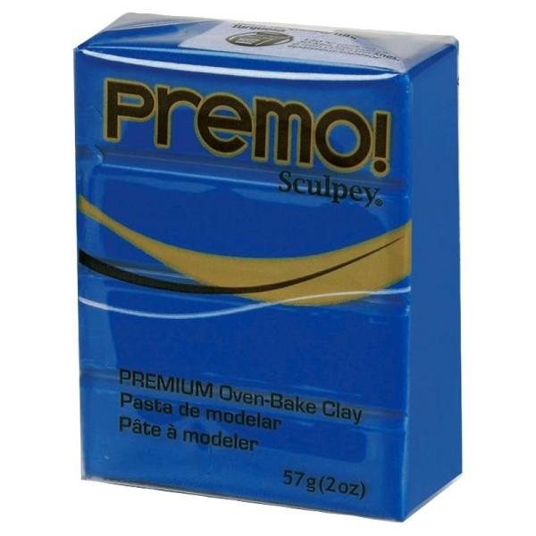 Pâte Sculpey Premo Bleu cobalt - 57g - Photo n°1