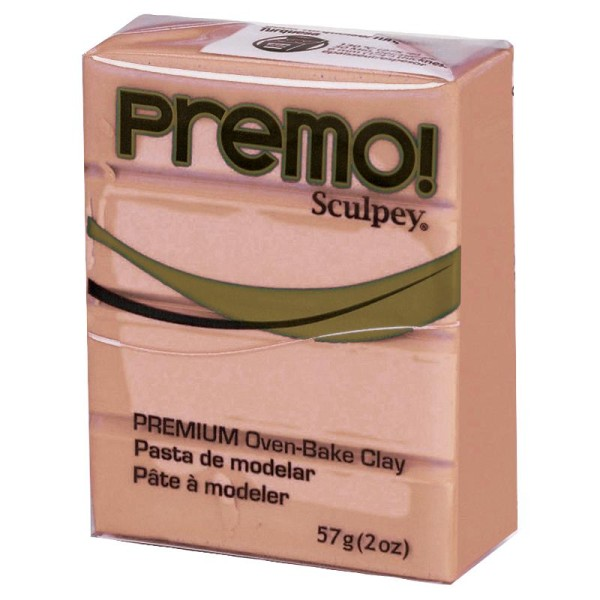 Pâte Sculpey Premo Beige - 57g - Photo n°1