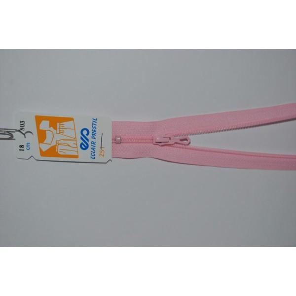 Couleur Marron Zip// Fermeture éclair simple non séparable de 25 cm