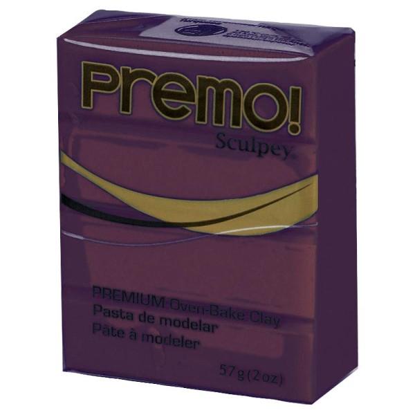 Pâte Sculpey Premo Violet - 57g - Photo n°1