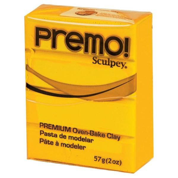 Pâte Sculpey Premo Jaune primaire - 57g - Photo n°1