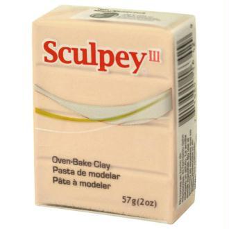Pâte Sculpey III Translucide - 57g