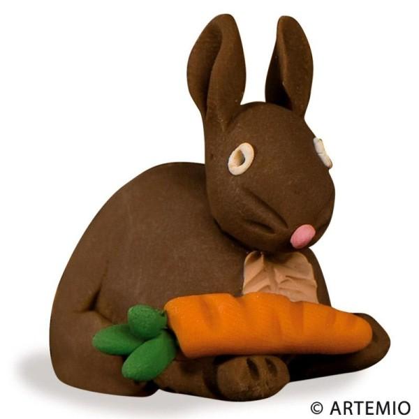 Pâte Sculpey III Marron chocolat - 57g - Photo n°6