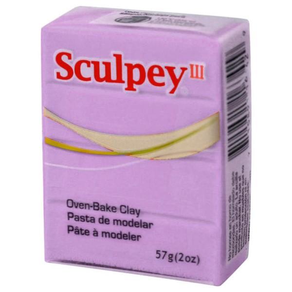 Pâte Sculpey III Mauve pastel - 57g - Photo n°1