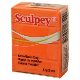 Pâte Sculpey III Orange - 57g