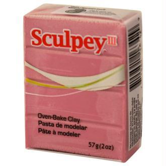 Pâte Sculpey III Vieux rose - 57g