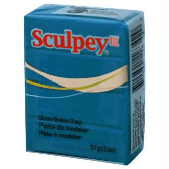 Pâte Sculpey III Bleu turquoise - 57g