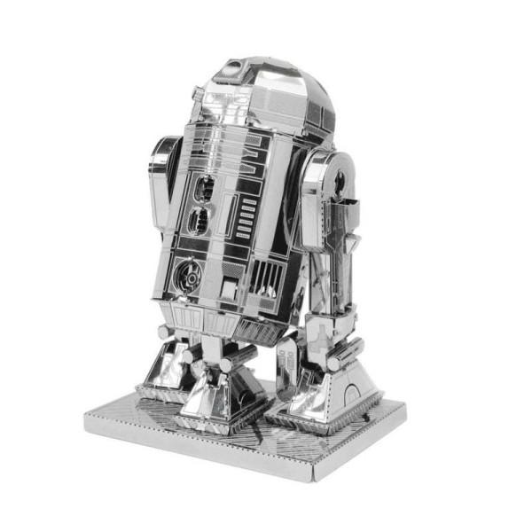 Star Wars - R2D2 - Kit métal pré-découpé au laser, à assembler sans colle - Photo n°1