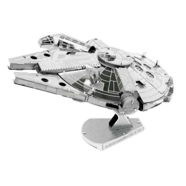 Star Wars - Millennium Falcon - Kit métal pré-découpé au laser, à assembler sans colle - Photo n°1